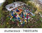 poor education of people leads...   Shutterstock . vector #748351696