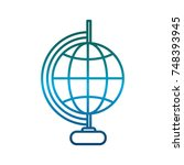 geography tool icon   Shutterstock .eps vector #748393945