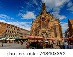 nuremberg  germany   aug 5 ... | Shutterstock . vector #748403392