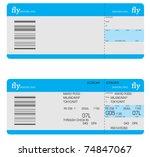 tickets | Shutterstock .eps vector #74847067