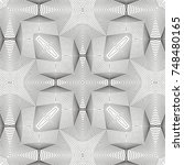 seamless guilloche vector...   Shutterstock .eps vector #748480165