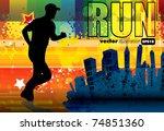 sport vector illustration | Shutterstock .eps vector #74851360