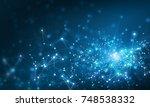 wireless technology concept | Shutterstock . vector #748538332