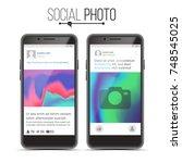 social network photo frame...