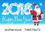 vector light cloud greeting... | Shutterstock .eps vector #748576672