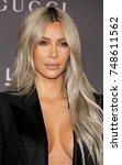kim kardashian at the 2017... | Shutterstock . vector #748611562