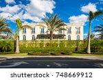 naples  florida   november 1 ... | Shutterstock . vector #748669912