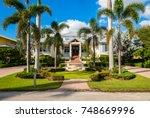 naples  florida   november 1 ...   Shutterstock . vector #748669996