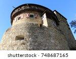vaduz castle  schloss vaduz  in ... | Shutterstock . vector #748687165