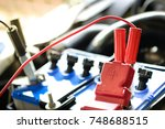 charge the car   Shutterstock . vector #748688515