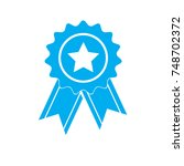simply award medal icon on...