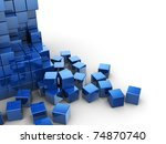 Abstract 3d Illustration Of...