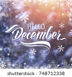 great season texture with... | Shutterstock . vector #748712338