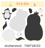 education paper game for the... | Shutterstock .eps vector #748718152