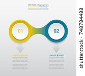 abstract infographic template... | Shutterstock .eps vector #748784488