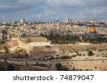 Holy City Of Jerusalem. The...