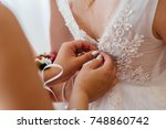 fees for the wedding of the... | Shutterstock . vector #748860742