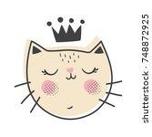 vector illustration of an... | Shutterstock .eps vector #748872925