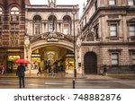 london  november  2017 ... | Shutterstock . vector #748882876