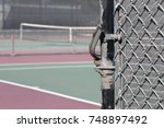 Chain Link Gate With Fork Latc...