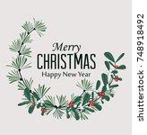 vector illustration of... | Shutterstock .eps vector #748918492