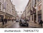 london  november  2017   a view ... | Shutterstock . vector #748926772