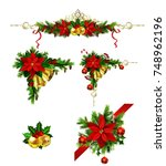 christmas elements for your... | Shutterstock .eps vector #748962196