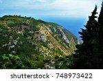 french riviera | Shutterstock . vector #748973422