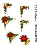 christmas elements for your... | Shutterstock .eps vector #749048992