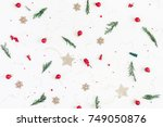 Christmas Composition. Pattern...