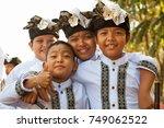 denpasar  bali island ...   Shutterstock . vector #749062522