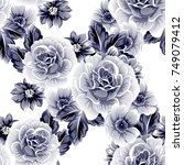 abstract elegance seamless... | Shutterstock .eps vector #749079412