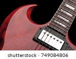 gibson sg standard   Shutterstock . vector #749084806