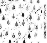 Hand Drawn Christmas Tree...