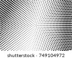 abstract halftone dotted grunge ... | Shutterstock .eps vector #749104972