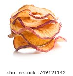 tasty dried apple slices... | Shutterstock . vector #749121142