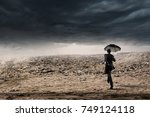 ready to challenge bad times   Shutterstock . vector #749124118