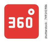 360 degree video | Shutterstock .eps vector #749141986