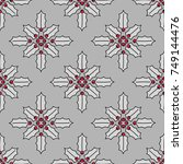 simple seamless pattern.... | Shutterstock .eps vector #749144476