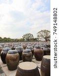 korean traditional  beautiful... | Shutterstock . vector #749148802