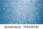 blue watercolor paint splashes. ... | Shutterstock .eps vector #749149132