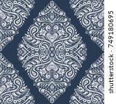 ethnic decorative seamless... | Shutterstock .eps vector #749180695