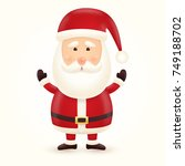 santa claus character... | Shutterstock .eps vector #749188702