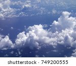 clouds in the sky | Shutterstock . vector #749200555