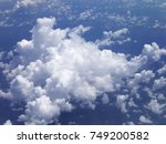 clouds in the sky | Shutterstock . vector #749200582
