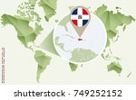infographic for dominican... | Shutterstock .eps vector #749252152