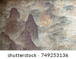 abstract rustic background | Shutterstock . vector #749253136