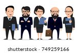 business team   group... | Shutterstock .eps vector #749259166