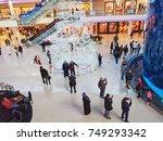 casablanca  morocco   october... | Shutterstock . vector #749293342