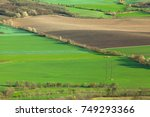 view from the top of oblik hill.... | Shutterstock . vector #749293366